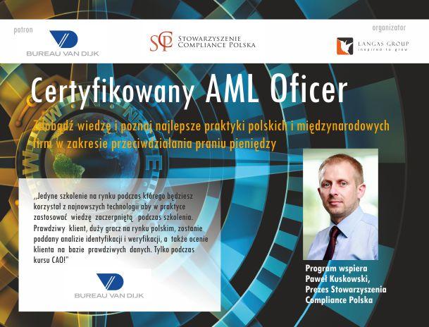 Certyfikowany AML Officer – Poziom 1
