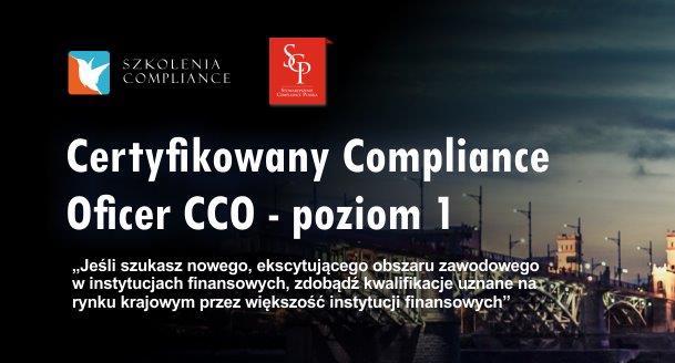 Certyfikowany Compliance Officer – CCO – Poziom 1