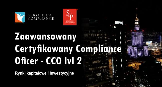Certyfikowany Compliance Officer – CCO – Poziom 2